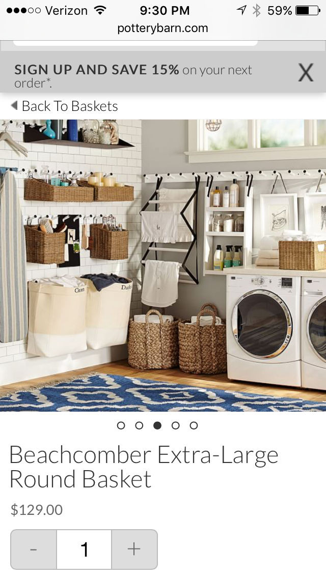 Design Your Own Laundry Room: Pin By Maria Fowler On For The Home