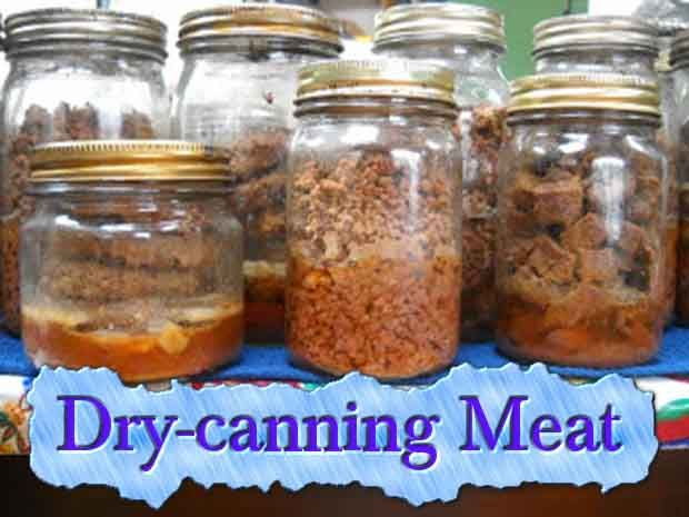 Dry-canning Meat - Lil Moo Creations