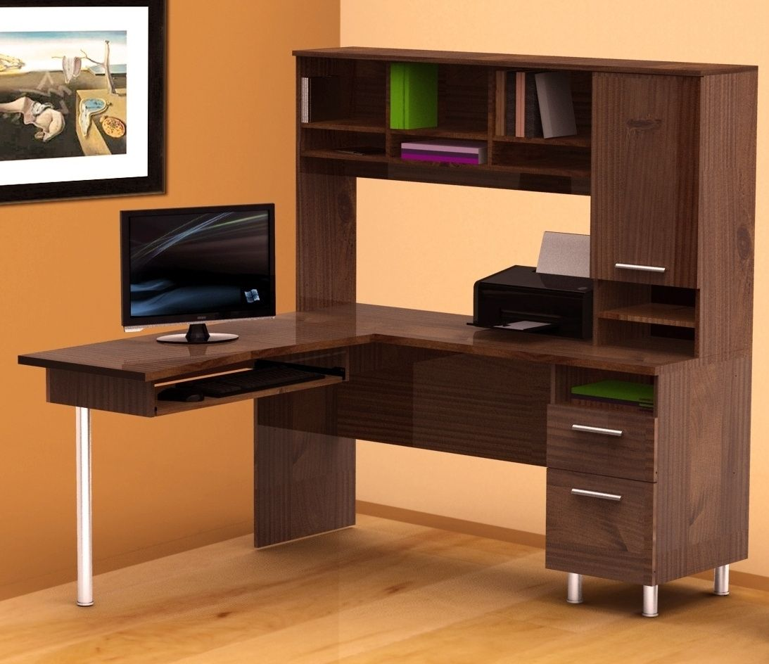 Dark Brown Office Desk   Home Office Furniture Sets Check More At Http://