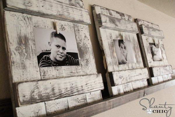 Chippy Wooden Picture Frame