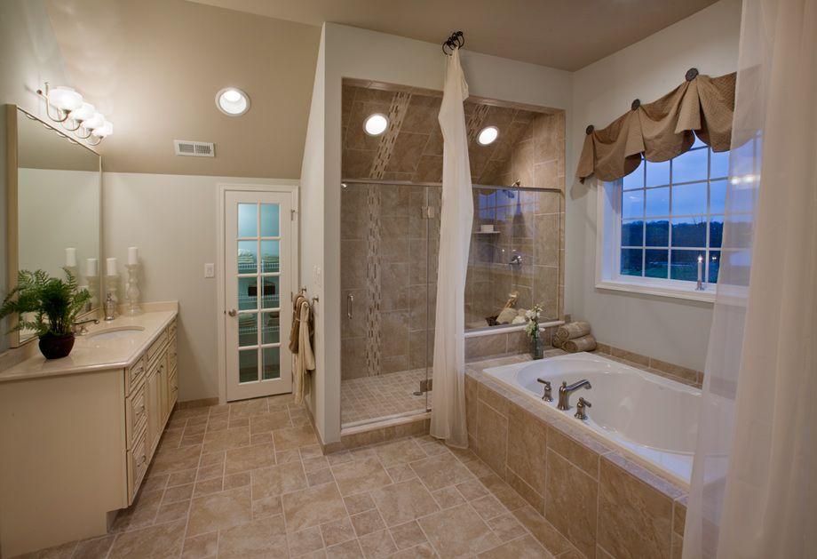 Ultra shower; Duke at Mountain View at Hunterdon: luxury new homes ...