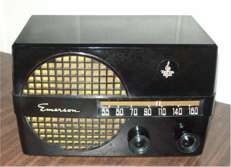 Emerson 652 1950 For Sale Item 0440041 Vintage Radio Retro Radios Old Radios