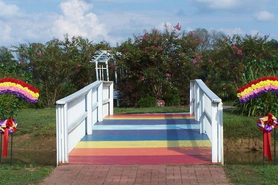 The Rainbow Bridge - Dixie Memorial Pet Gardens. My dog ...