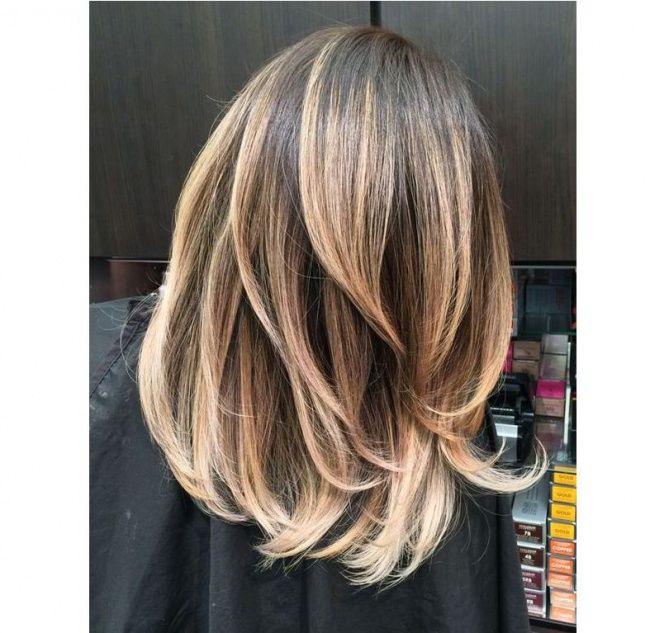 Cieniowane Fryzury Dla Długich I średnich Włosów Galeria