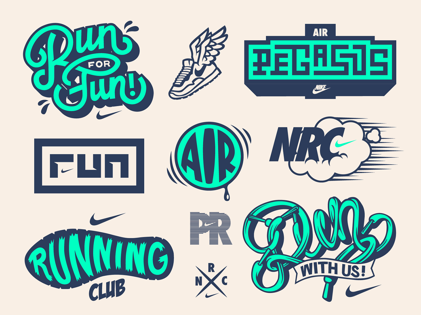 "Check out this Behance project ""Dynamite! Crew Nike"