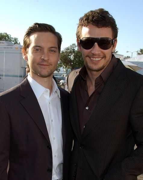 Tobey Maguire and James Franco | Famous Friendships ...