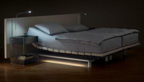 Swissflex ambiente ledverlichting sfeer hoofdbord leer for Spiegel boven bed