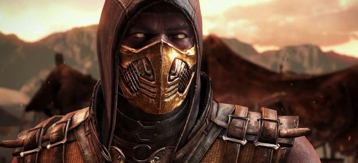 Mortal kombat scorpion street fighter fighter