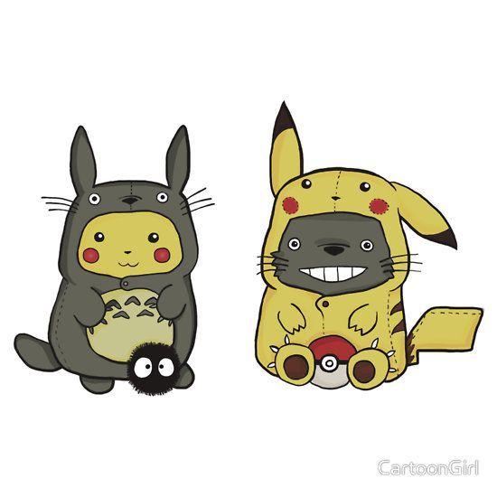 Pokemon Gifts Merchandise Totoro Ghibli Pikachu