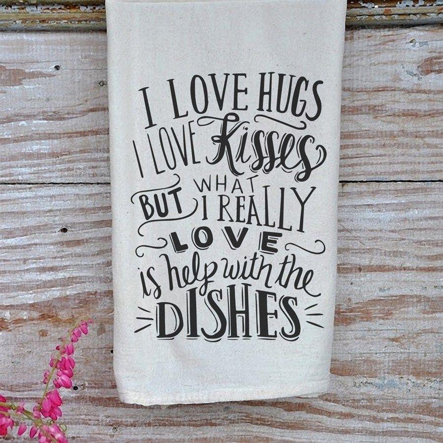 Kitchen Tea Quotes For Cards: Gourmet Flour Sack Tea Towels