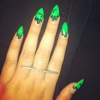 16 Cool Nail Designs Nail Inspo Pinterest Drip Nails Makeup
