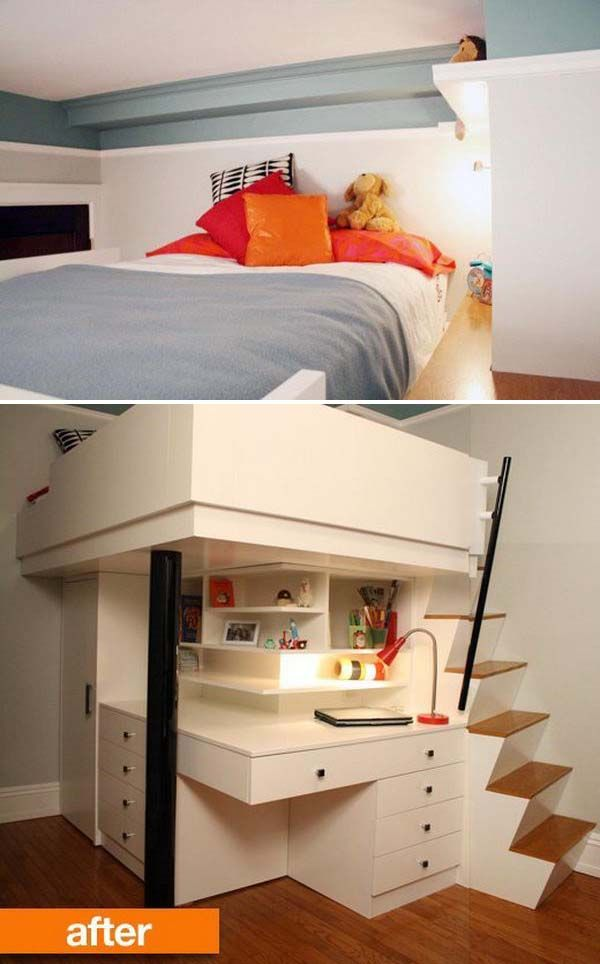 32 cool loft beds for small rooms beds for small rooms on bedroom furniture design small rooms id=87014
