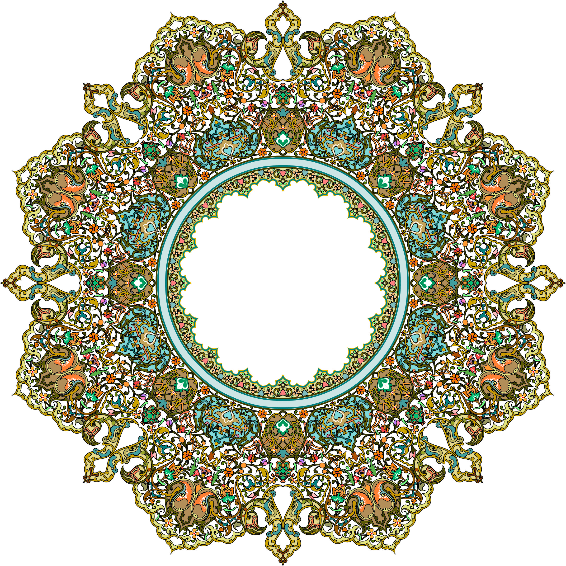Shiagraph Category Floral Pattern Khatai Image 43 Floral Pattern Khatai Islamic Art Pattern Islamic Art Persian Calligraphy Art
