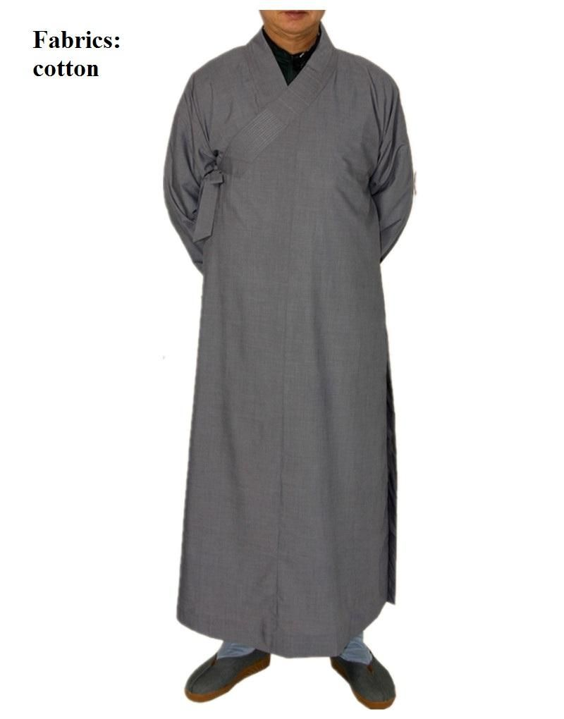 e86c82c803 Shagnhai Story Men's Chinese Traditional Long Gown Shaolin Temple ...