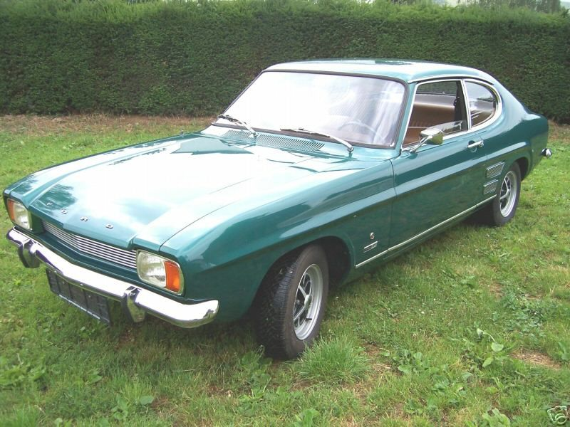 Ford Capri 2000 Gt Xlr 1970 Green Google Search Ford Capri