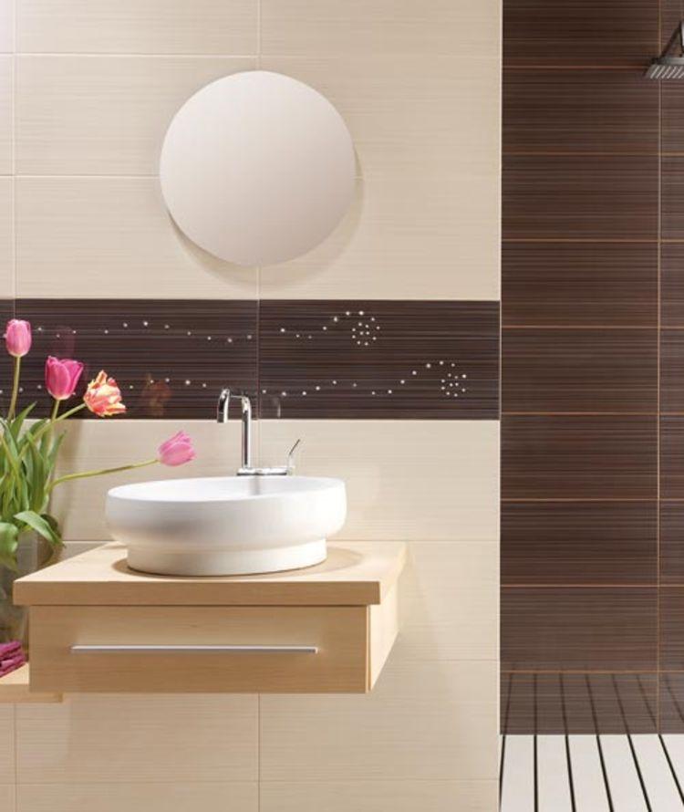 Feng Shui Badezimmer feng shui badezimmer spiegel rund zimmerpflanzen badezimmer
