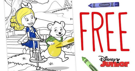 Free Goldie And Bear Coloring Pages Bear Coloring Pages Bear Birthday Party Bear Birthday