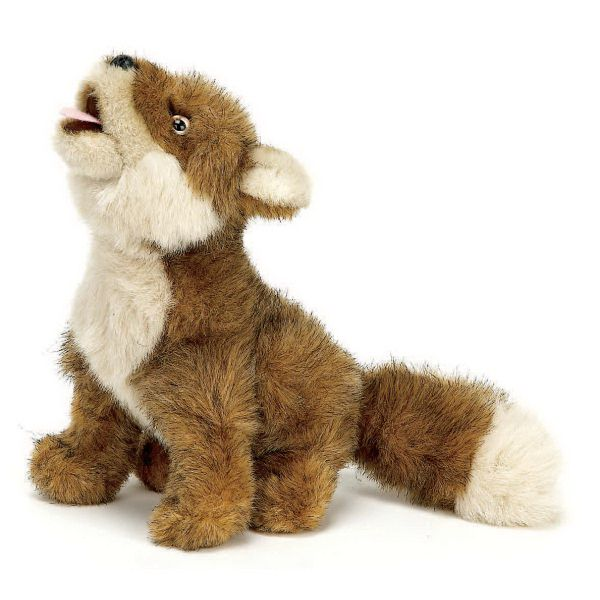 Unique Stuffed Plush Toy Sitting Coyote Pal Accessories Priced Separately Stuffed Animal Plush Toy Stuffed Toy Custom Mascot School Spirit Store Pals