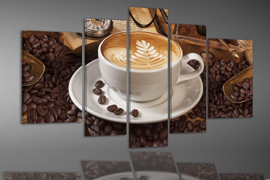 Kafee / Coffee http://www.abc-leinwandbilder.ch/5-teilige ...