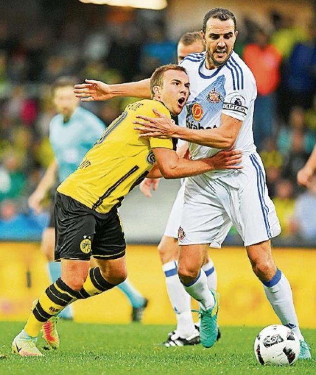 Frisur Werbung Und Fans Götze Erfindet Sich Neu Borussia