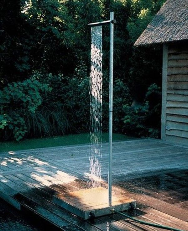 Attractive Outdoor Pool Shower Ideas Part - 5: This Can Be The Shower Right Next To My Pool. Or Better Yet, The Outside  Shower To My Lake House :P