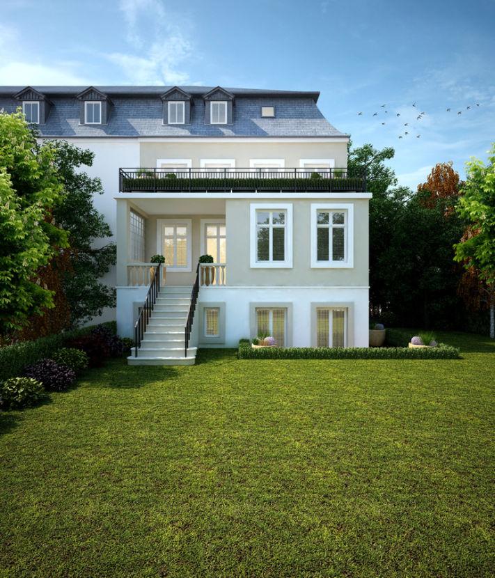 Reprasentative Wohnung In 20er Jahre Villa Am Teufelsberg Mit Grossem Balkon Villa Wohnung Etagenwohnung
