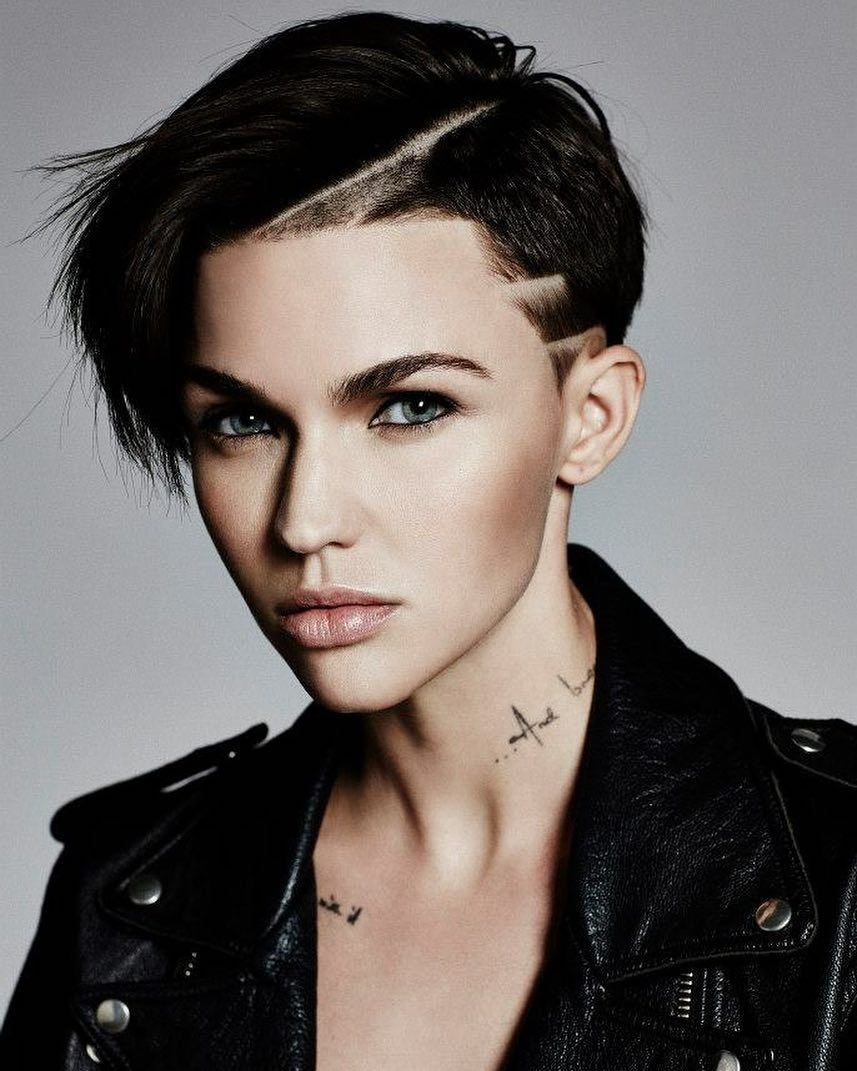Tomboy Ruby Rose Black And White Photography