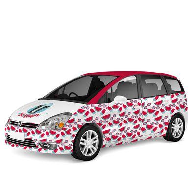 Vehicle Graphics At Pixartprinting Car Sticker Delivery In Just - Customized car decals and graphics