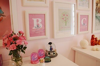 bottom three are gorgeous personalised prints from My Sweet Prints