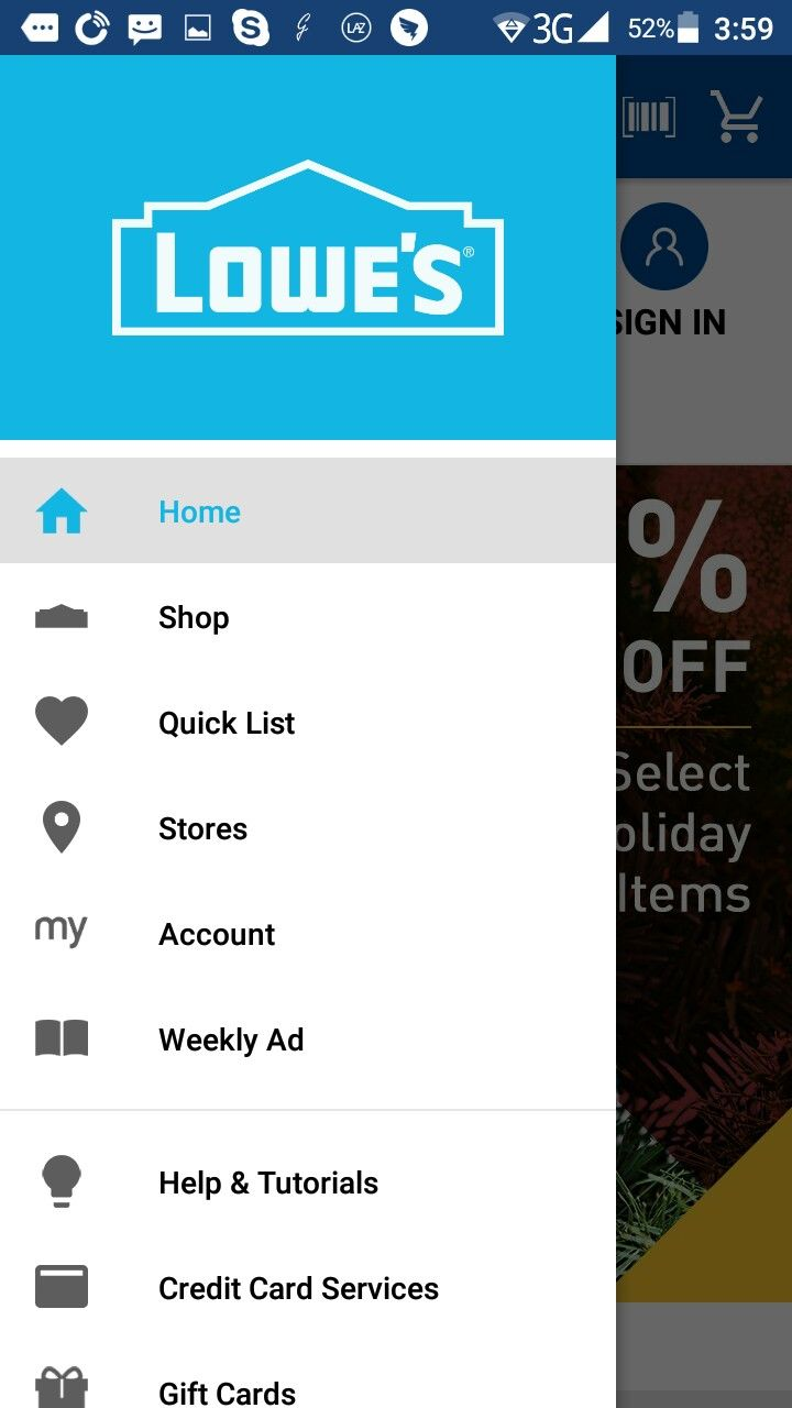 Lowes credit card services credit card weekly ads