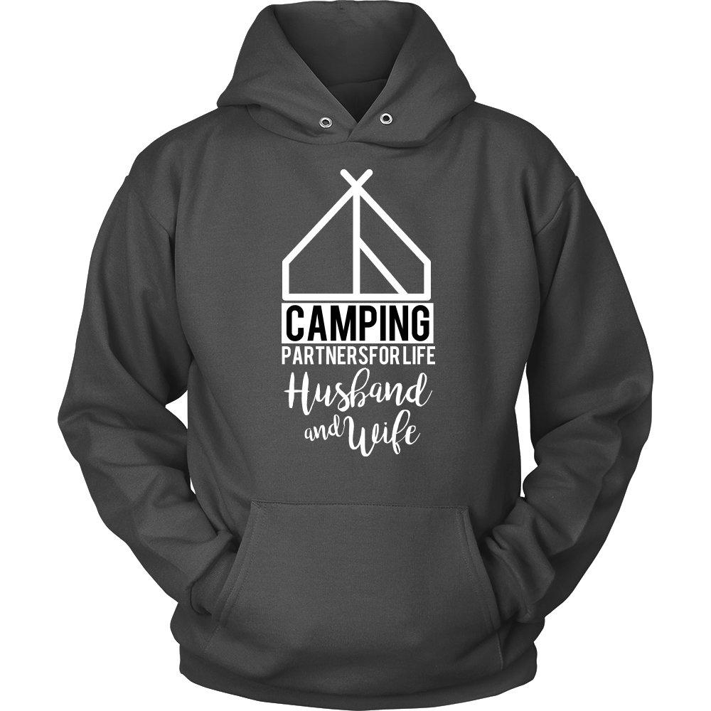 'Camping Partners for Life' Unisex Hoodie