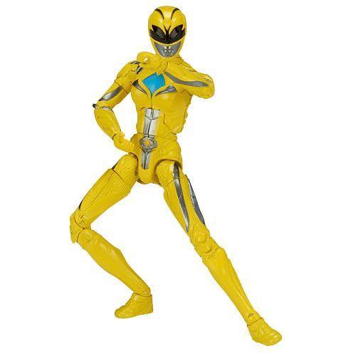 Power Rangers Mighty Morphin Movie 5-inch Yellow Ranger Action Figure 2017
