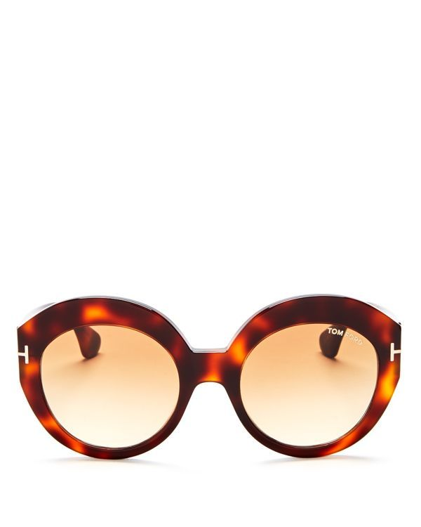 7ee8d1033b3 Tom Ford Rachel Round Sunglasses