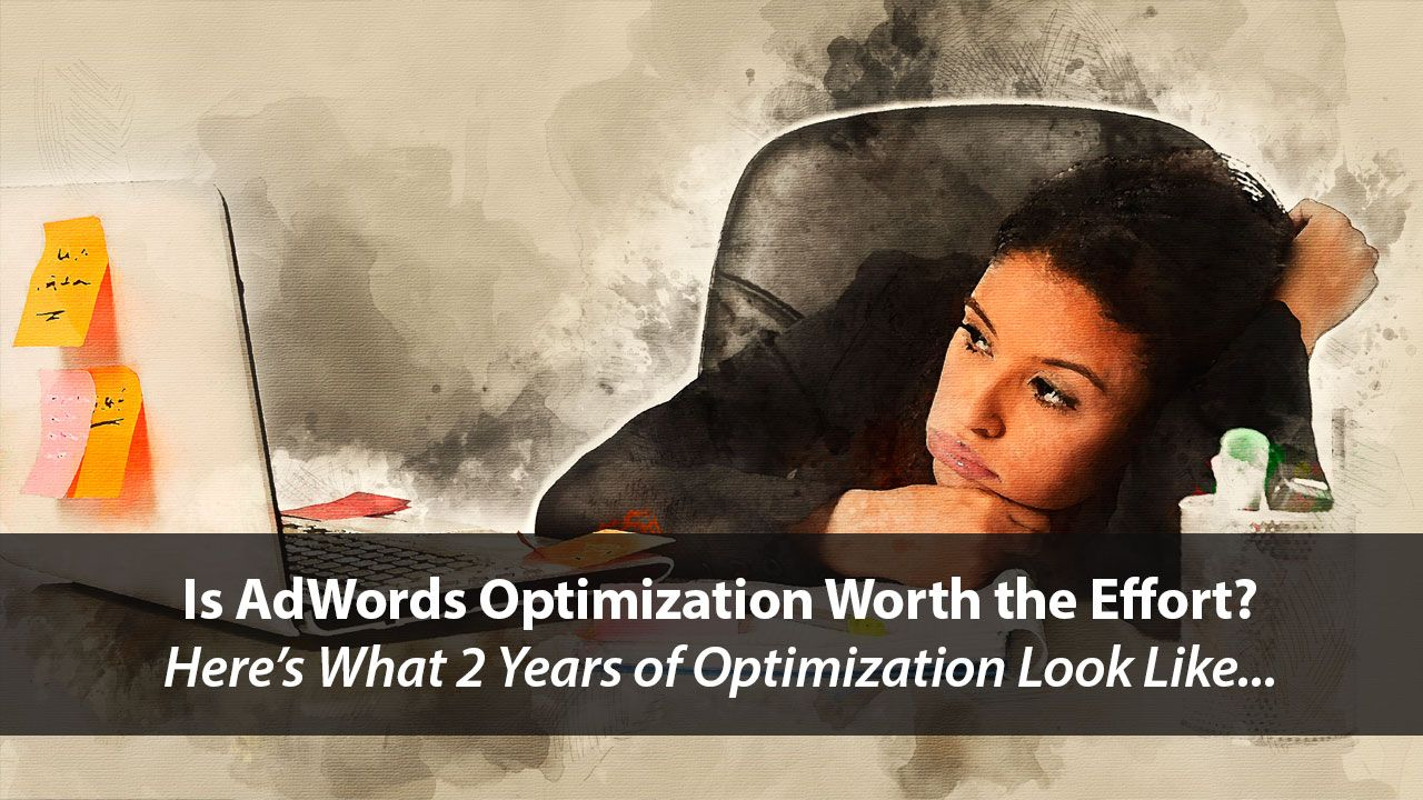 What Does 2 Years of AdWords Optimization Look Like?