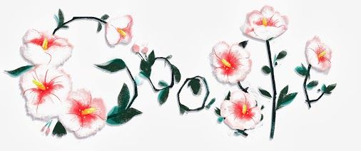 In South Korea Today A Delicate Doodle Marked Mugunghwa Day Which