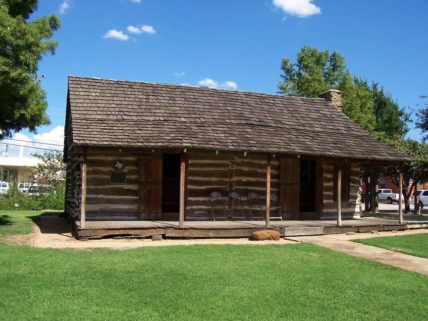 Log Cabin Grapevine Tx Lone Star Pinterest Texas