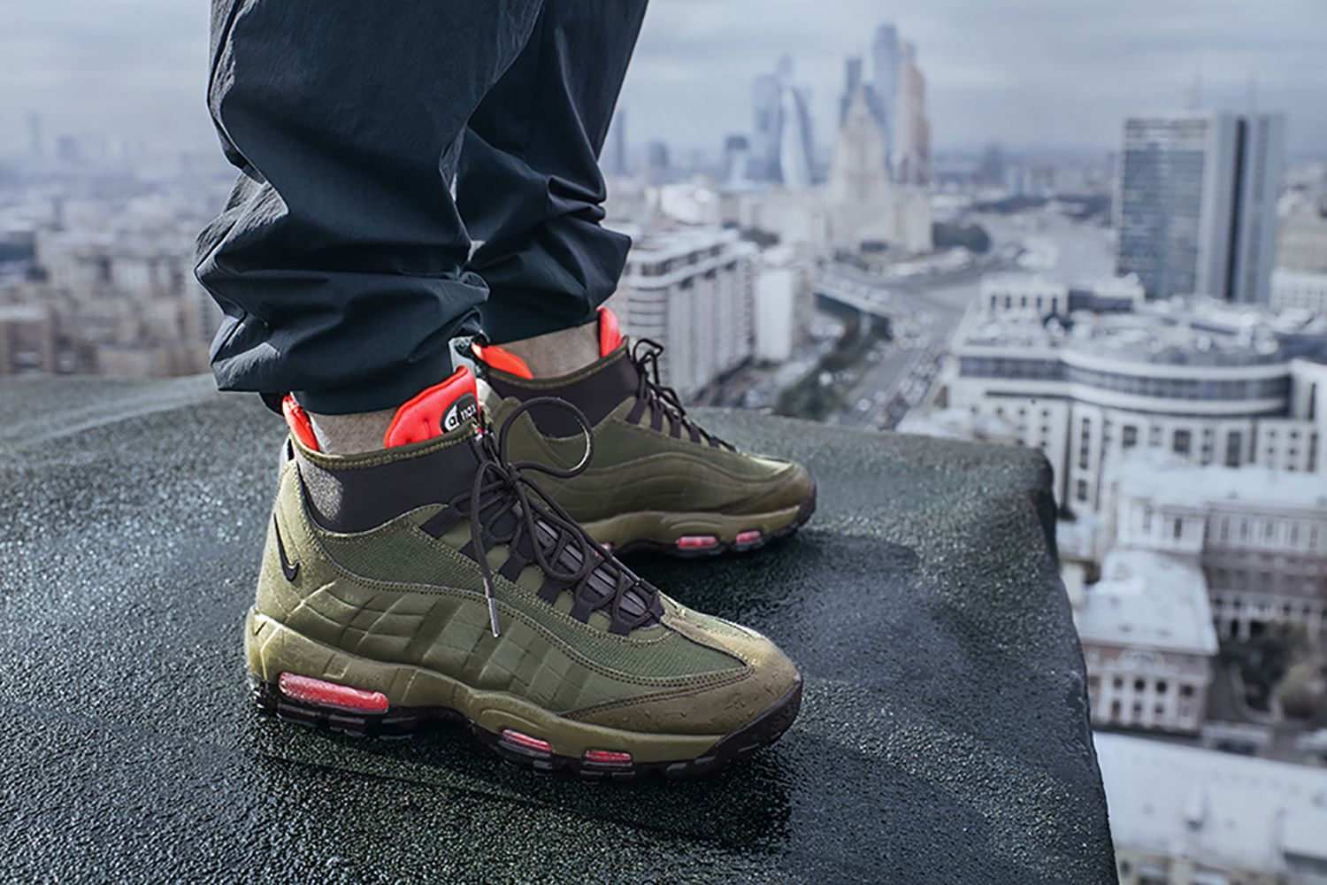 b6ad6aabe965 Nike Unveils the Sneakerboots 2015 Fall Winter Collection in Moscow ...