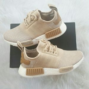 7910e0d1c Adidas Shoes - Adidas NMD R1 Desert Sand Camo Tan Nude