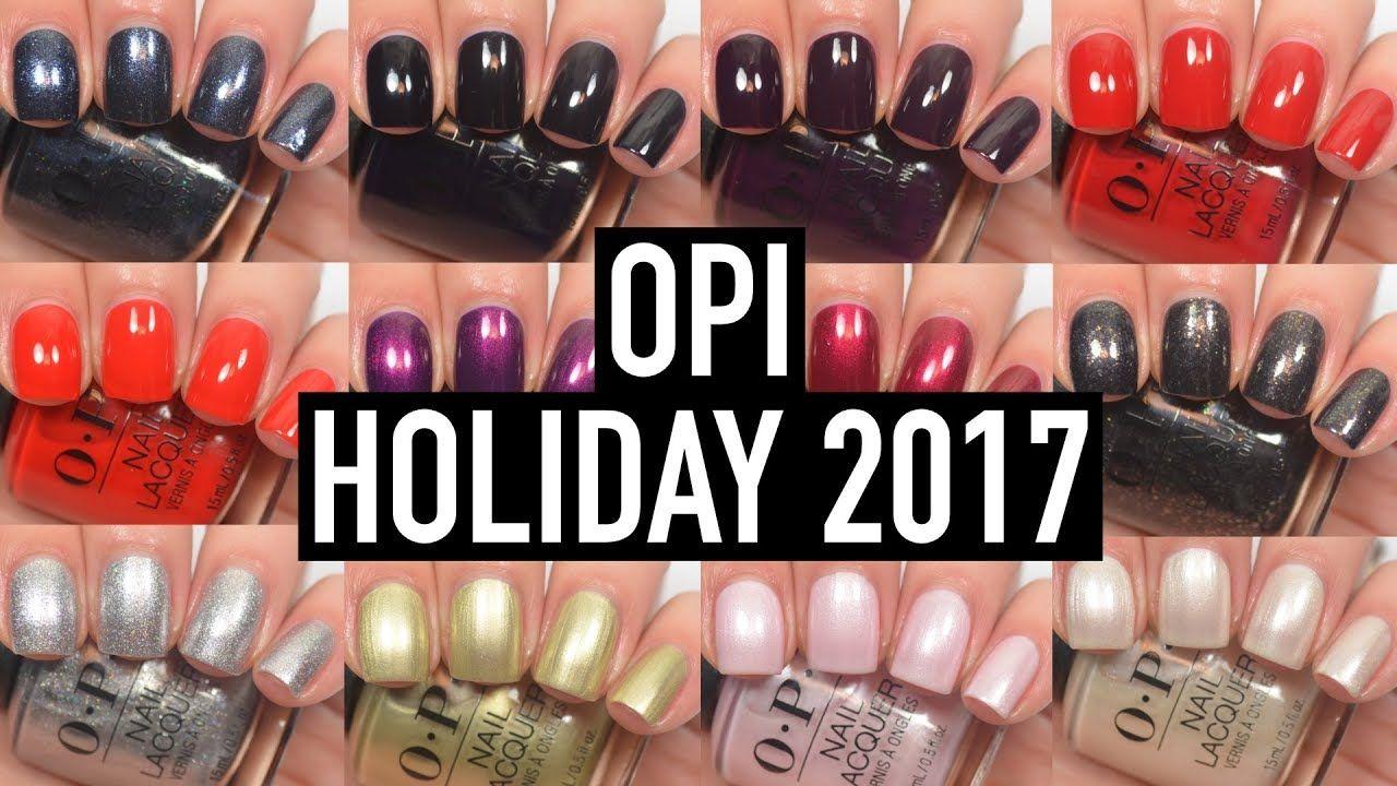 Opi Love Opi Xoxo Holiday 2017 Swatch And Review Nail Polish Nails Nail Lacquer