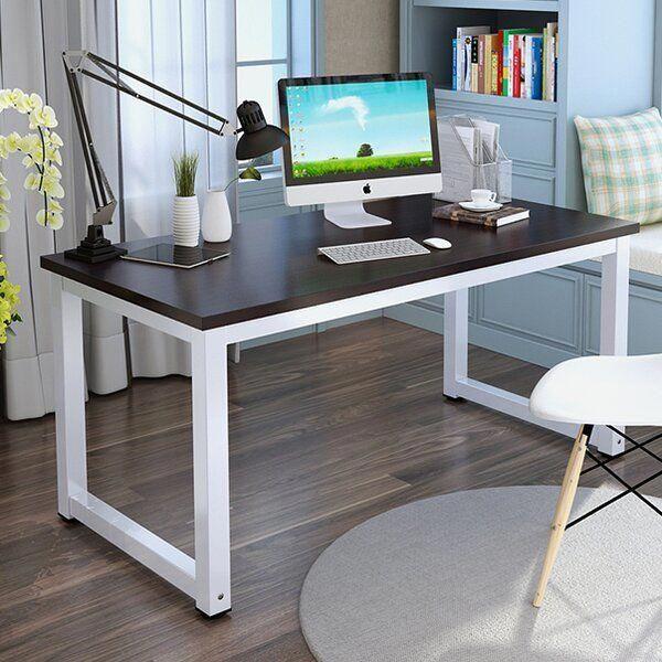 Diy Homeoffice Desk Ideas: Ebern Designs Capson Writing Desk & Reviews