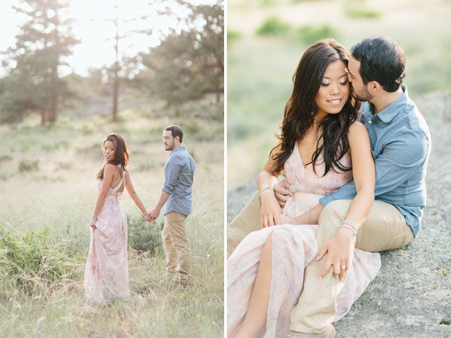 5dd262894d54 Sweet Summer Engagement Photos in Colorado