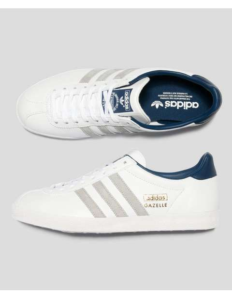 competitive price c894f 27cdf adidas Originals Gazelle OG Leather  Scotts Menswear
