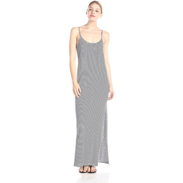 42a451973ad Splendid Women s Always Stripe Tank Maxi Dress ( 94) ❤ liked on Polyvore  featuring dresses