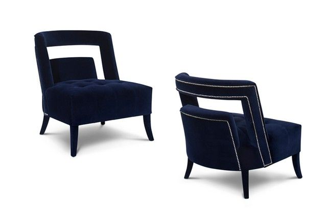 Idées Déco Maison, Fauteuils luxueuses pour un salon moderne, style