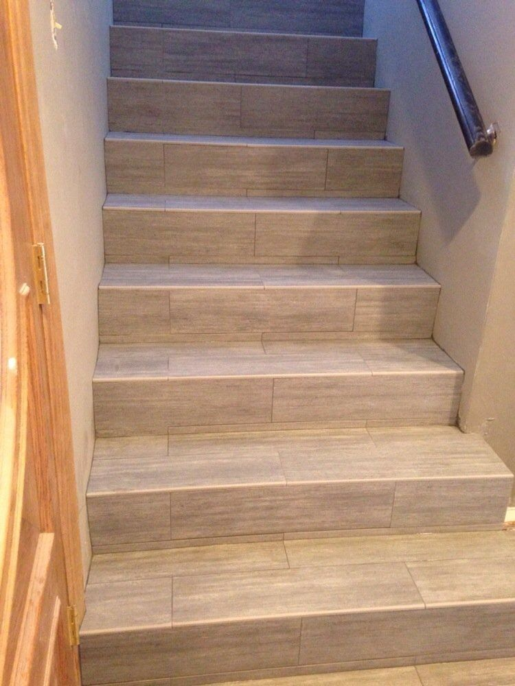 Merveilleux TFI Tile U0026 Marble Design   Orange, CA, United States. Porcelain Wood Plank  Stairs