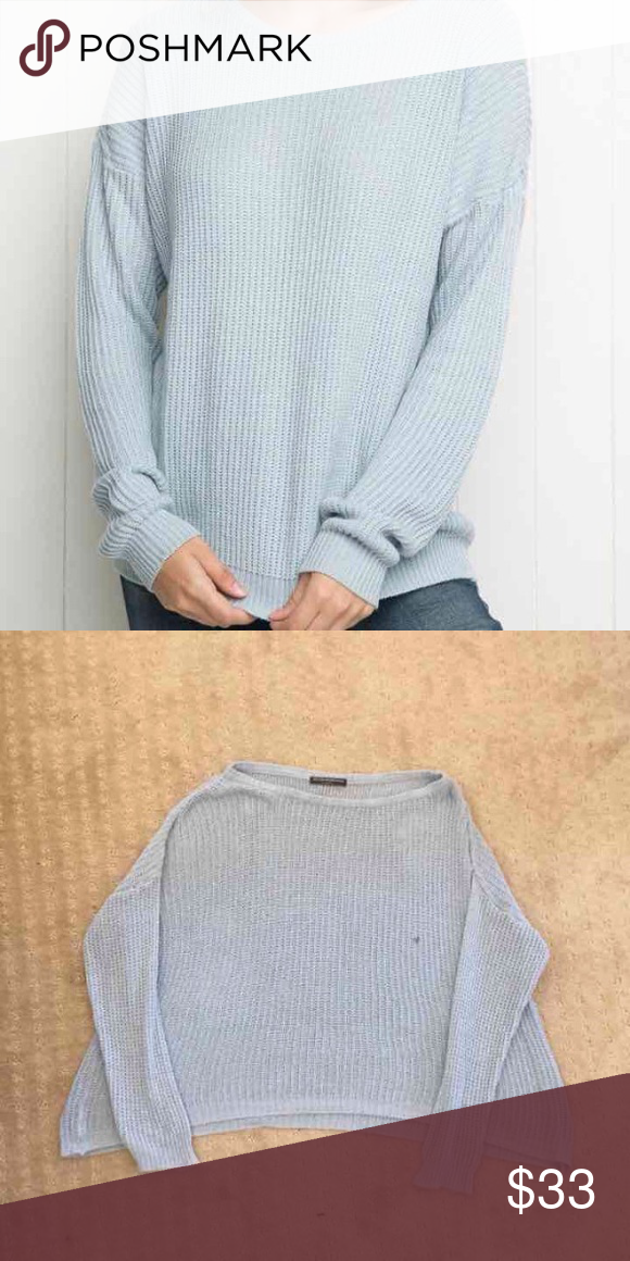 Brandy Melville blue Ollie New without tags. Thinner than Ollie but exactly the same looking. 29 shipped mercari Brandy Melville Sweaters
