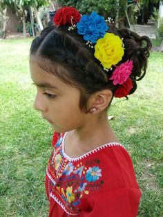 Mexican Hairstyle Mexican Hairstyles Baby Girl Hairstyles Flower Girl Hairstyles