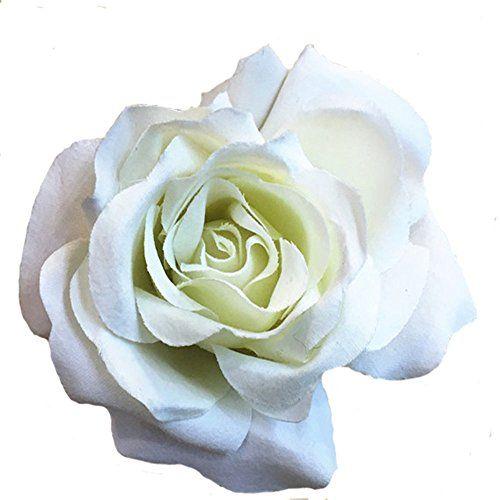 Hdecor Hdecor Silk Cream White Roses Flower Head, Artific... https://www.amazon.com/dp/B01J5ALI6U/ref=cm_sw_r_pi_dp_x_TCCrybV52XKA3