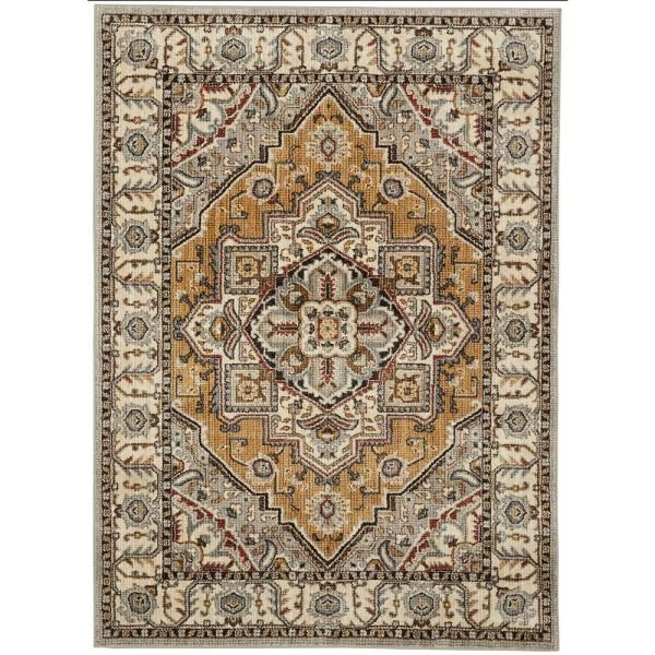 Mohawk Home Rene Beige 10 Ft X 12 Ft 11 In Area Rug 672690 The Home Depot In 2020 Area Rugs Rugs Mohawk Home