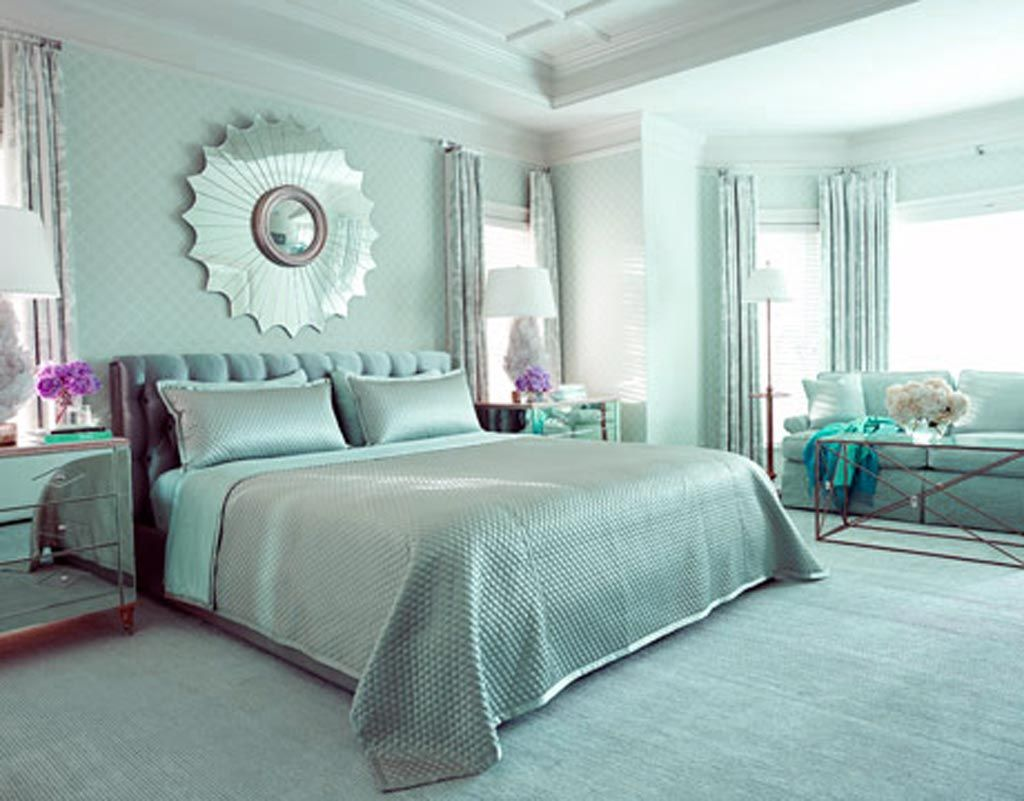 glamorous-blue-home-decorating-idea-by-tobi-fairley-bedroom, photo